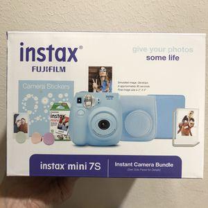 NEW Fujifilm Instax Mini 7S Instant Camera Bundle for Sale in Houston, TX