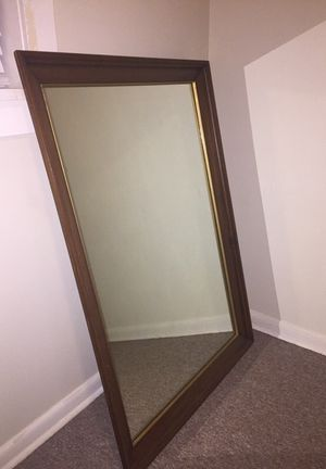 Mirror (wooden frame) for Sale in Harrisonburg, VA