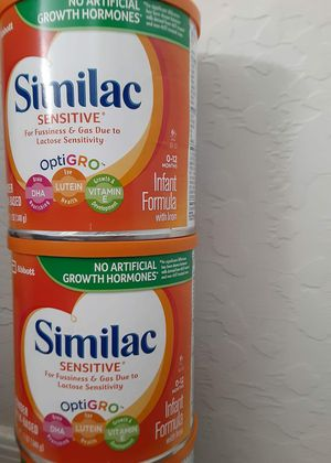 7 cans of similac sensitive for Sale in Phoenix, AZ
