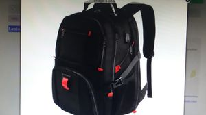 "Laptop Backpack, Large 18.4"", USB Port, Carry on Size, Black, NEW for Sale in Goodyear, AZ"