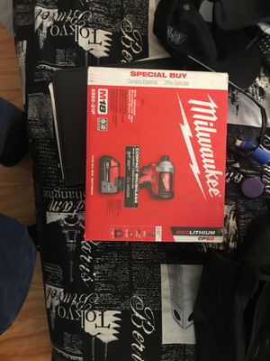 Milwaukee impact drill for Sale in Miami, FL