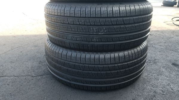 Two good set of pirelli tires for sale 255/50/19