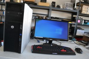HP Gaming or CAD Workstation Xeon E5 12 Cores 32GB RAM Nvidia 4000 4GB GPU for Sale in Clovis, CA