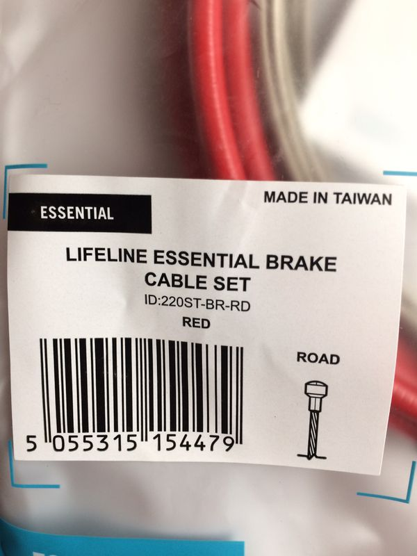 Lifeline Essential Brake Cable Set