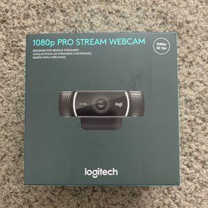 Logitech 1080p Pro Stream Webcam 30 fps for Sale in Clovis, CA