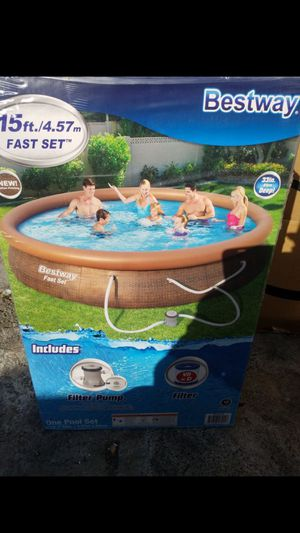 New BESTWAY 15ft x 33in Fast Set Pool for Sale in Oakland, CA