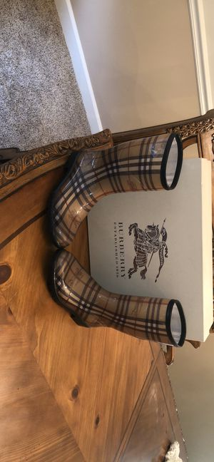 Burberry rain boots for Sale in Cleveland, OH
