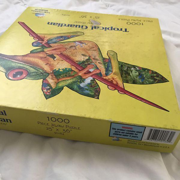 Tropical Guardian 1000 Piece Puzzle