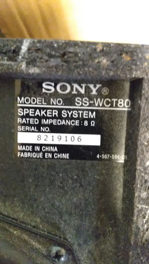 Sony subwoofer for Sale in Hollywood, FL
