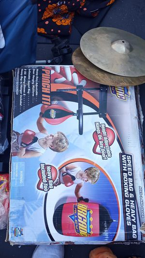 Punch it hanging ball speed bag for all ages in the Box brand new for Sale in San Francisco, CA