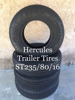 Trailer ST 235/80/16 (excellent condition) for Sale in Rancho Cucamonga, CA