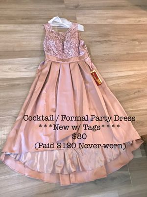 Mauve Mocha Pink Dress / Prom / Wedding / Quinceañera / evening gown / party dress / Women size 18 for Sale in Fontana, CA
