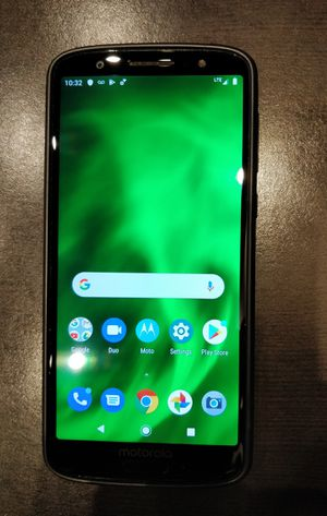 Moto G6 Factory Unlocked 32gb Android Phone Mint Motorola att TMobile cricket metro for Sale in Cleveland, OH