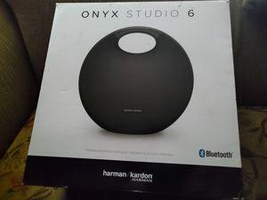Harman Kardon Onyx Studio 6 Waterproof 50W Portable Speaker IPX7 Bluetooth for Sale in Houston, TX