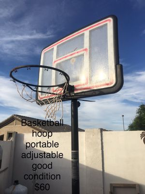 Basketball hoop $60 for Sale in Goodyear, AZ