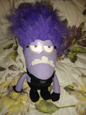Purple minion plushie for Sale in Colton, CA