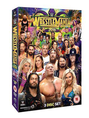 Wrestle mania 34 dvd for Sale in Fullerton, CA