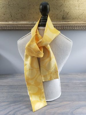 Authentic Signature Coach Silk Skinny Scarf for Sale in Jackson Township, NJ