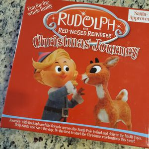 Rudolph The Red Nosed Reindeer Christmas Journey Board Game for Sale in Rancho Santa Margarita, CA