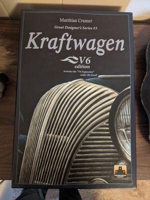 Kraftwagen board game for Sale in Tacoma, WA