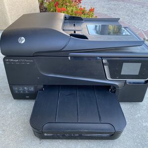 HP Officejet 6700 Premium e-All-in-One Wireless Color Photo Printer with Scanner, Copier and Fax,Black for Sale in Rancho Santa Margarita, CA