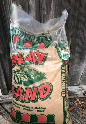 Quikrete 50 lb Bag of Play Sand for Sale in Raleigh, NC