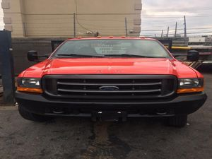 200 Ford Super Duty FlatBed F550 Red Exterior with Gray Leather Interior/ 8 Cyl/ Manual Transmission for Sale for sale  Bronx, NY