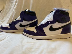Jordan 1 Court Purple 2.0 for Sale in Tacoma, WA