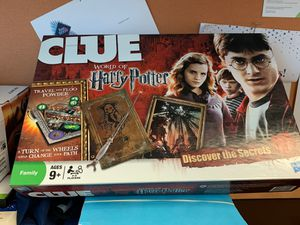Harry Potter Clue board game (Like New) for Sale in West Chicago, IL