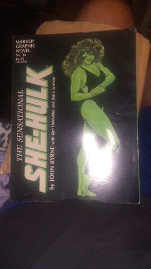 She hulk graphic novel 1985 for Sale in Middletown, OH