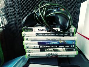 Xbox 360 and Xbox game and Xbox One controller for Sale in Salt Lake City, UT