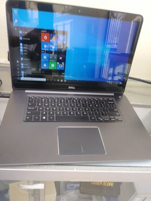 Dell 15.6 touch screen 12GB 500SSD I7 LIKE NEW EZ FINANCING NO CREDIT NEEDED for Sale in Bloomington, CA