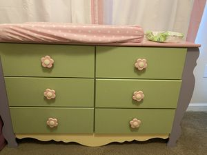 Dresser with mirror and tall dresser for Sale in Atlanta, GA