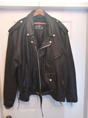 Leather Motorcycle Jacket for Sale in Mulberry, FL