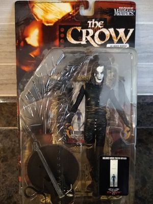 The crow action figure sealed in box Todd McFarlane for Sale in Queen Creek, AZ