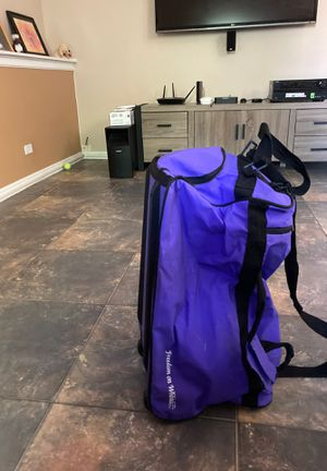 Duffle bag with rollers for Sale in Streamwood, IL
