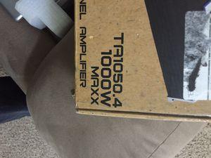 Autotek 1000 watt amp 4 channel. Brand new! for Sale in Norcross, GA