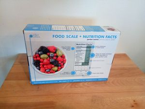 Greater Good Nourish Digital Kitchen Food Scale and Portionsnutritional facts for Sale in Warren, MI