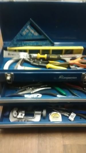 Sears companion tool box and tools for Sale in Fullerton, CA