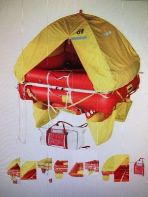 Zodiac 8-man coastal life raft with medical, distress & loose equipment for Sale in Lake Charles, LA