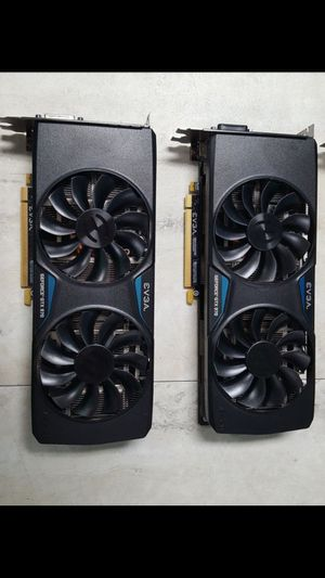 Gtx 970 ftw ssc cards pc computer gaming video card gpu for Sale in Jacksonville, FL