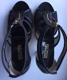 Michael Kors New Black Heels, Size 7 1/2M (7.5M), Price $99 for Sale in Philadelphia, PA
