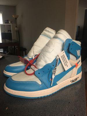 Nike Off White x Jordan 1 UNC Size 8.5 for Sale in Smyrna, GA