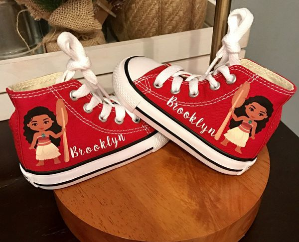 Personalized moana converse shoes for Sale in Brooklyn, NY OfferUp