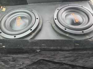 """**Atomic Apocalypse 8"""" subs in box** for Sale in Athens, TX"""