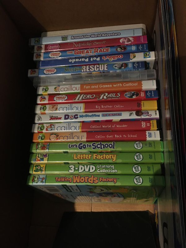 Kids 16 dvd collection