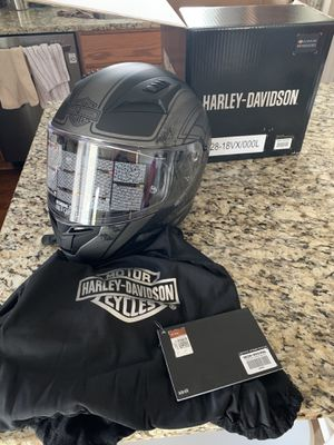Harley Davidson motorcycle helmet size large for Sale in Canal Winchester, OH