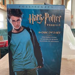 Harry Potter Trilogy for Sale in Westley,  CA