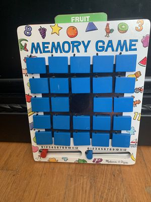 Melissa & Doug Wooden Flip to Win Memory Game for Sale in Portland, OR