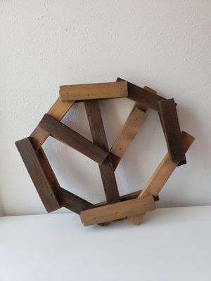 Handmade wooden peace sign for Sale in Culver City, CA